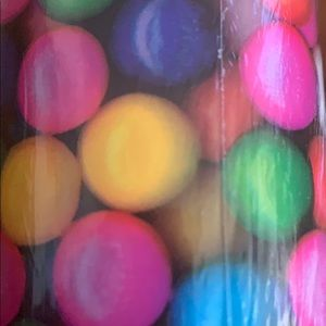 Bubble Gum Balls Tropical Bella Lux Gift Wrap